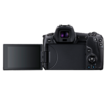 Canon EOS R Body Back LCD Out