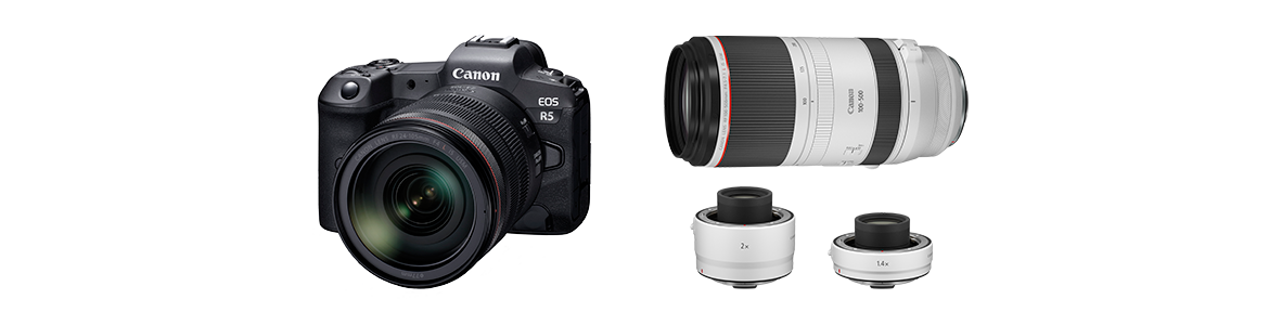 Canon Announces Development of the EOS R5 Next-Generation Full-Frame Mirrorless Camera and new RF Series Lenses