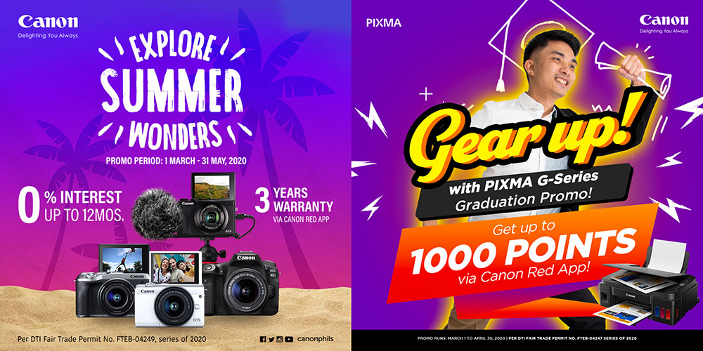 Gear Up for Great Deals and Explore Wonders  with these Summer Must-Haves from Canon