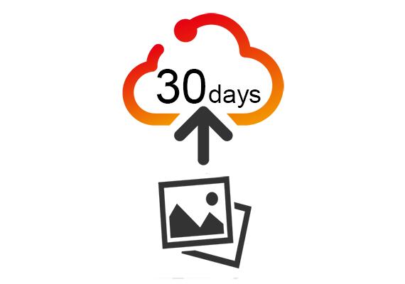 Cloud Storage for original images for 30days
