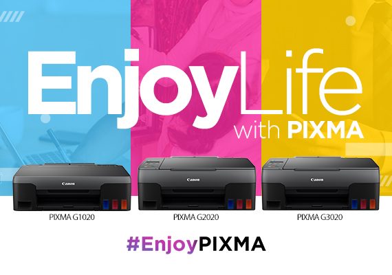 Canon Philippines Unveils new PIXMA G-Series Printers to Boost Productivity for Home and Small Businesses