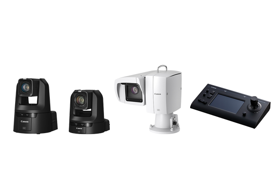 Introducing 3 New Remote Cameras and 1 Remote Control Panel for Remote Video Production over IP