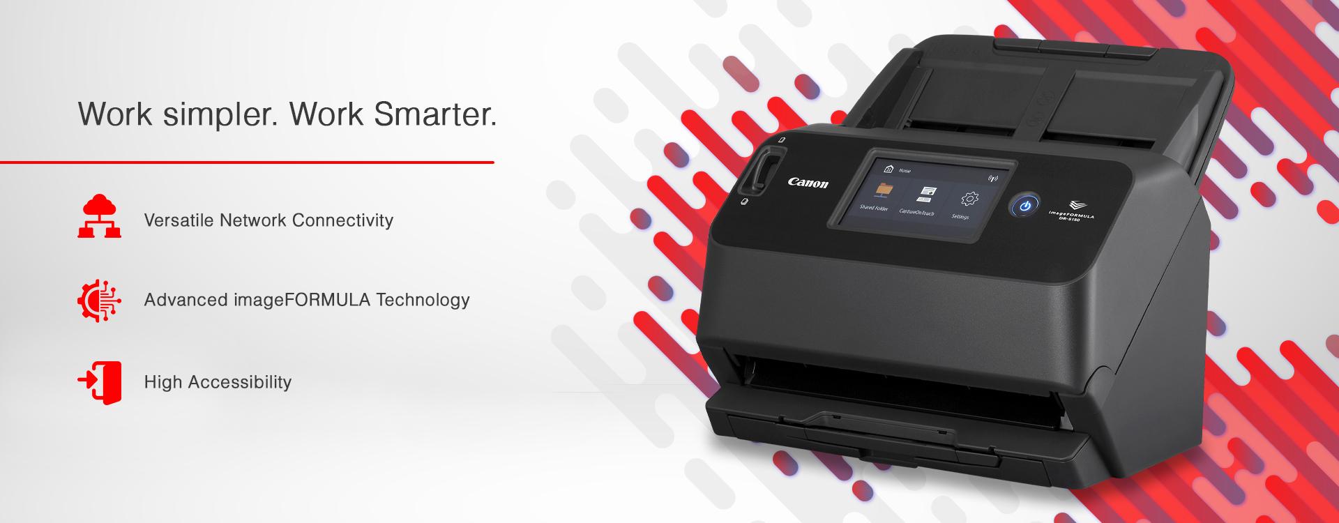 Canon document scanner
